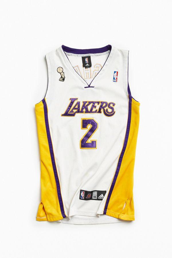5d83577dc9fd Vintage NBA Los Angeles Lakers Derek Fisher Basketball Jersey ...