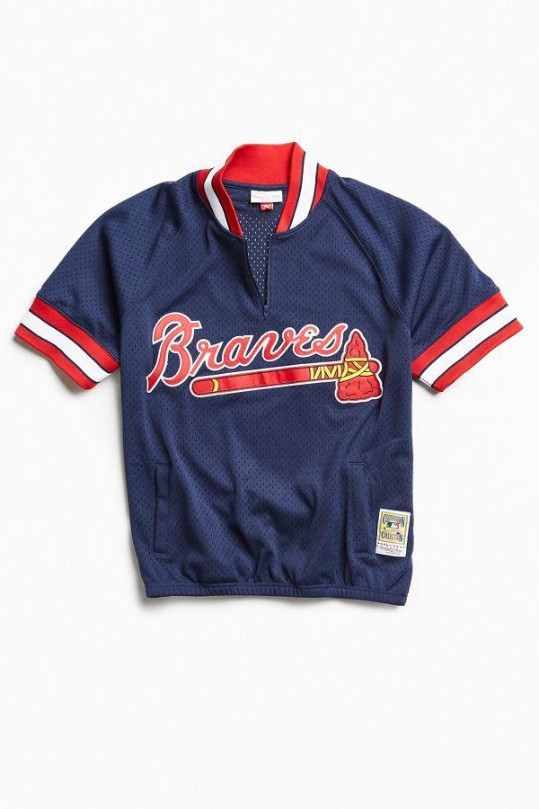 low priced 756a3 70082 Mitchell & Ness 1991 Atlanta Braves Batting Jersey
