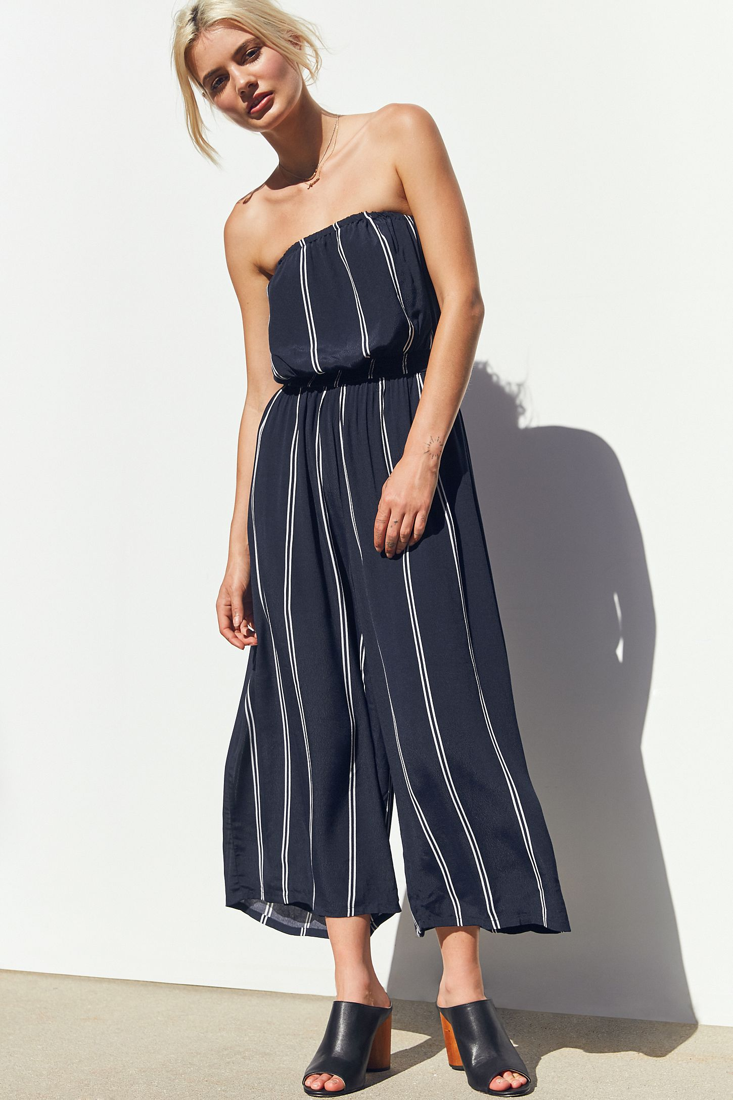 c4a87b168e45 Urban Outfitters Black And White Jumpsuit