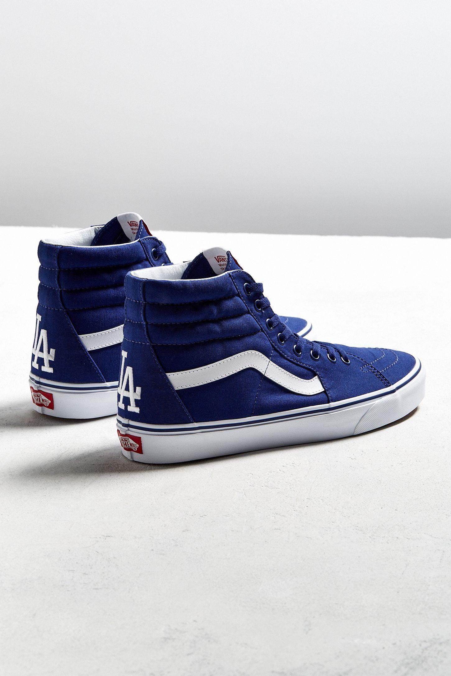 482a8105b0 Vans MLB Los Angeles Dodgers Sk8-Hi Sneaker