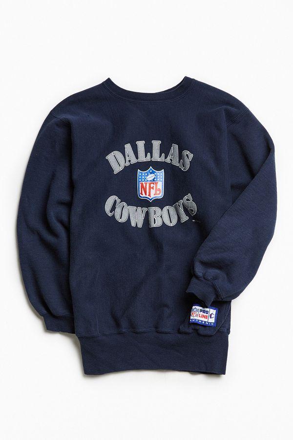 competitive price dd150 3779c Vintage Champion Dallas Cowboys Crew Neck Sweatshirt