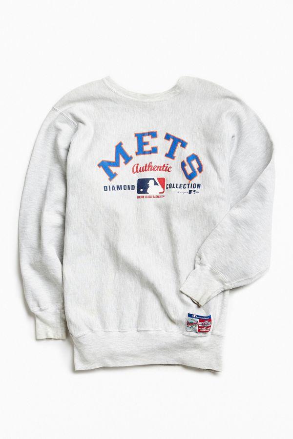 big sale 99376 929b2 Vintage Champion New York Mets Crew Neck Sweatshirt