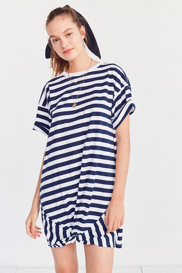 83902ba22064 The Fifth Label Off Duty Striped T-Shirt Dress