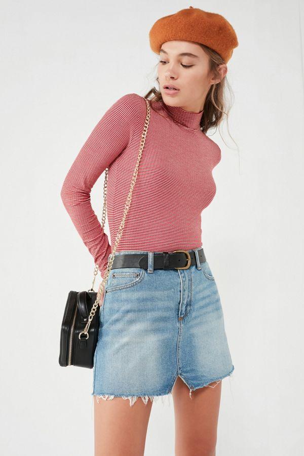 9750b3b944bd76 BDG Notched Denim Mini Skirt | Urban Outfitters