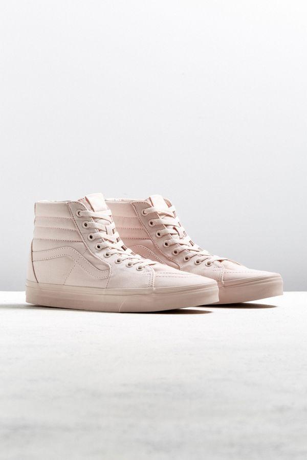 a573775f06 Vans Sk8-Hi Mono Canvas Sneaker