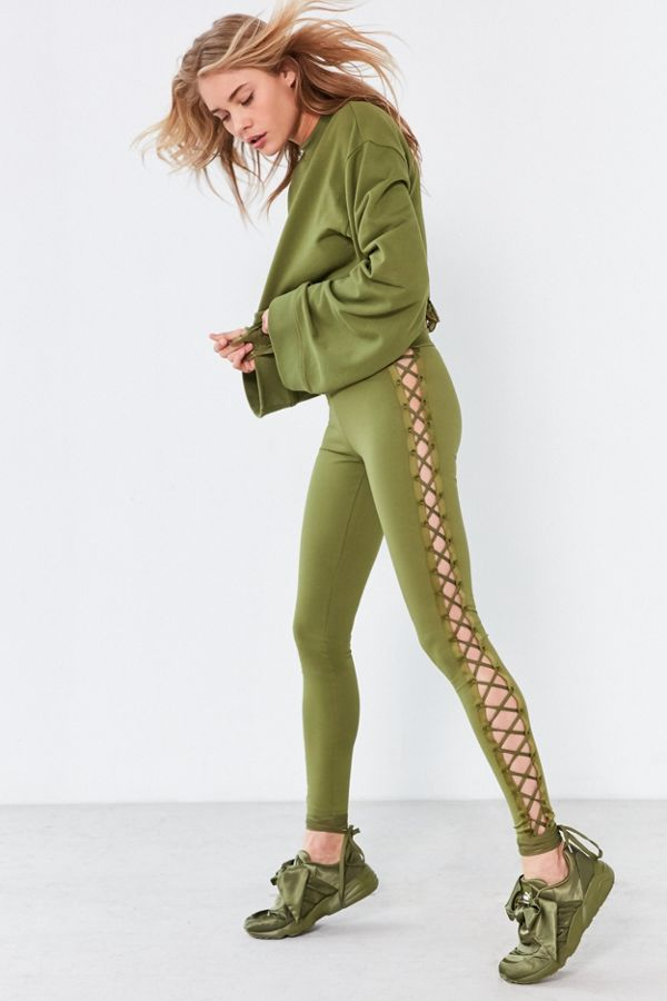 Legging Lace By Fenty Rihanna Puma Satin Up kXiuwZOTPl