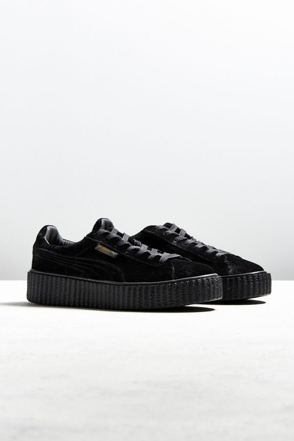 info for 8fe69 f290a Puma Fenty by Rihanna Women's Velvet Creeper Sneaker