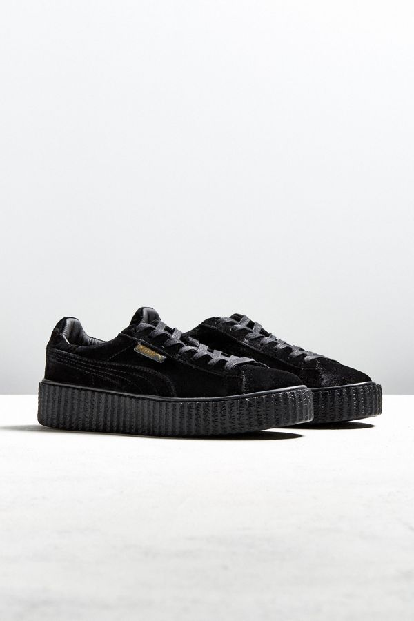 separation shoes 98a3f bf03c Puma Fenty by Rihanna Men's Velvet Creeper Sneaker