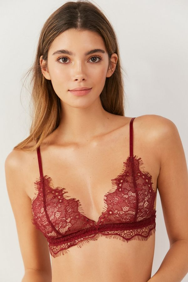 070862b7c095 Out From Under Annette Lace Triangle Bra | Urban Outfitters