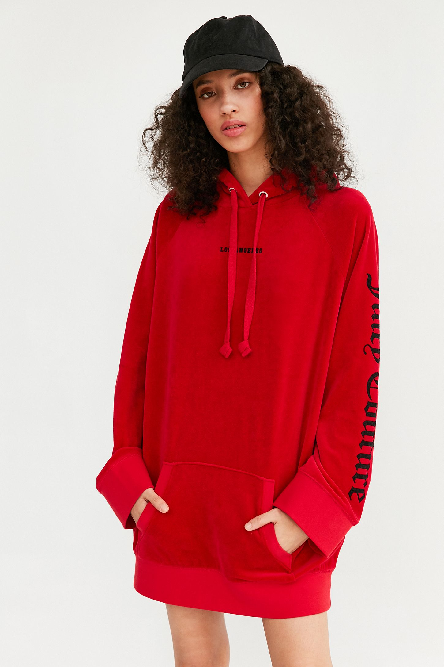 7e9979883a3 Juicy Couture For UO Oversized Velour Hoodie