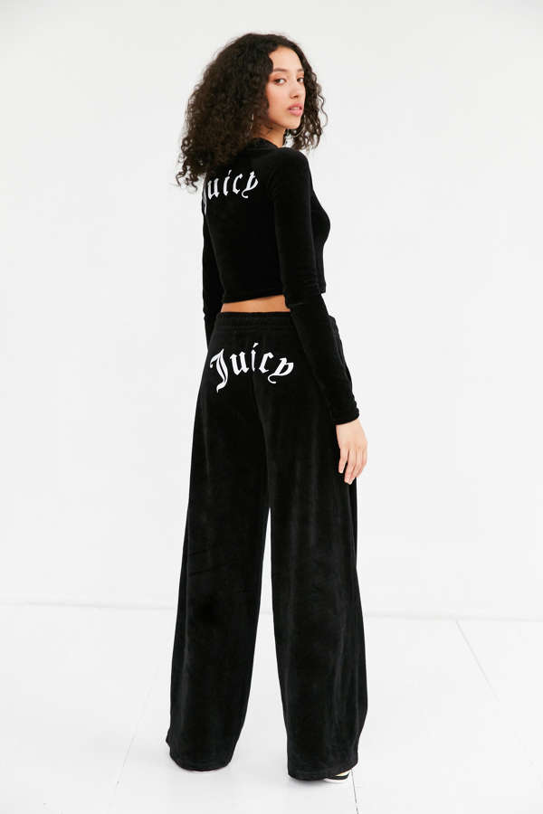 88cd6d1e40c0 Juicy Couture For UO Wide-Leg Velour Pant