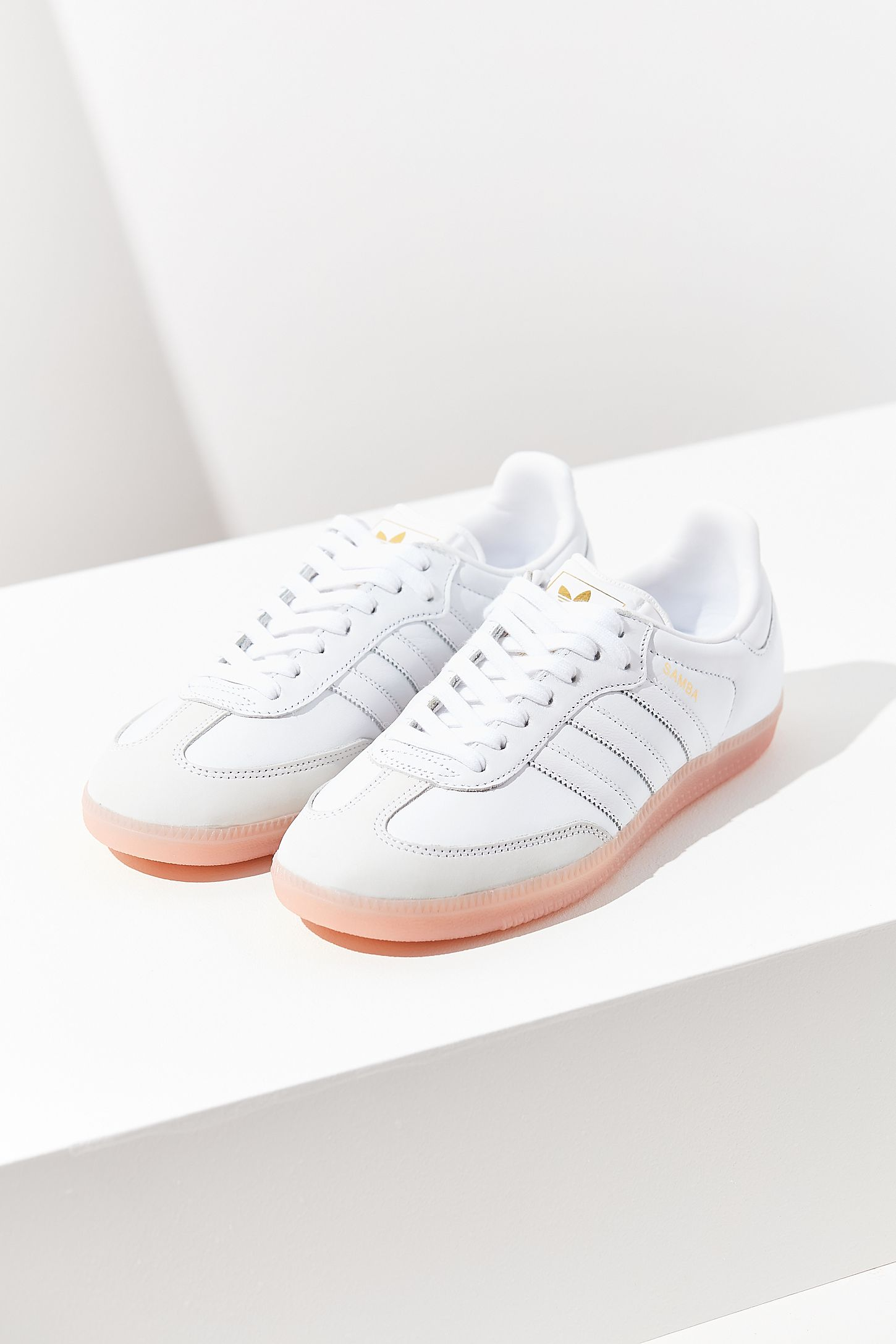the latest 7207d 4cc20 adidas Originals Samba Pink Sole Sneaker   Urban Outfitters