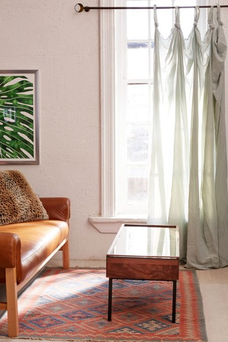 Green Patterned Curtains Printed Rugs Urban Outers
