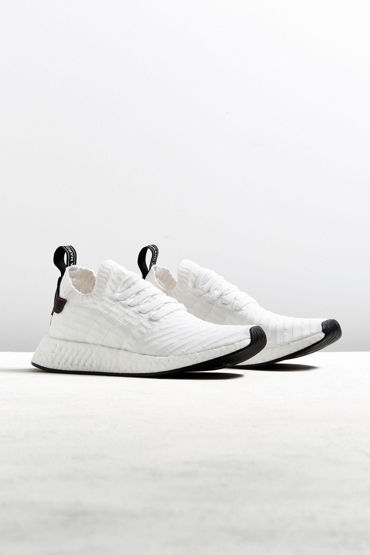 84203462c2ed8 adidas NMD R2 Core Black Primeknit Sneaker