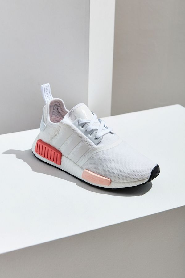 low priced 3d6d3 0058a ADIDAS Women's NMD R1 Running White / Icey Pink Alumni