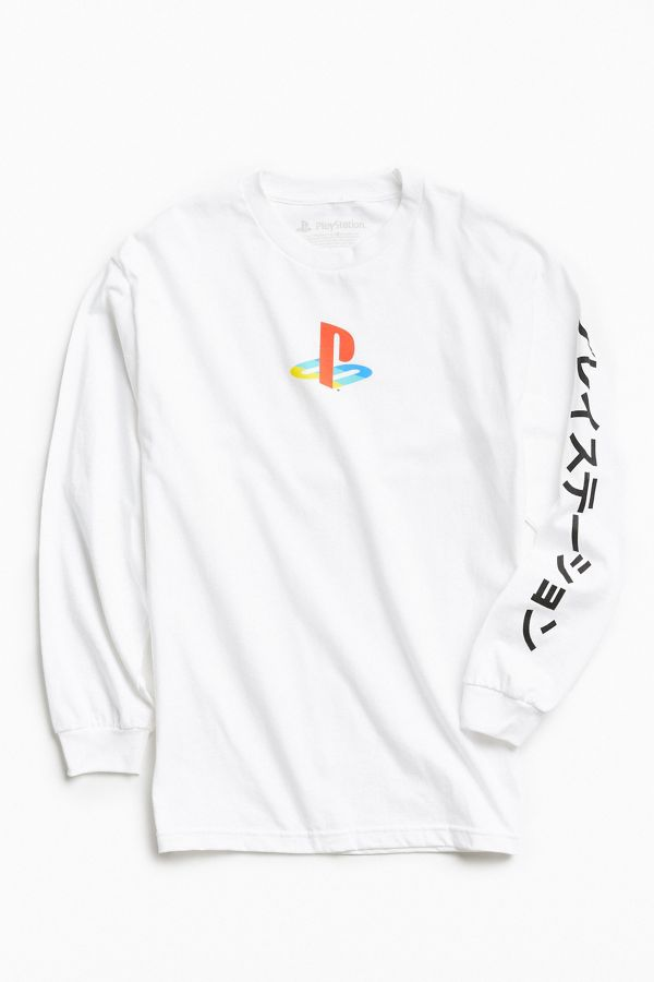 6edfbe608869 PlayStation Long Sleeve Tee | Urban Outfitters