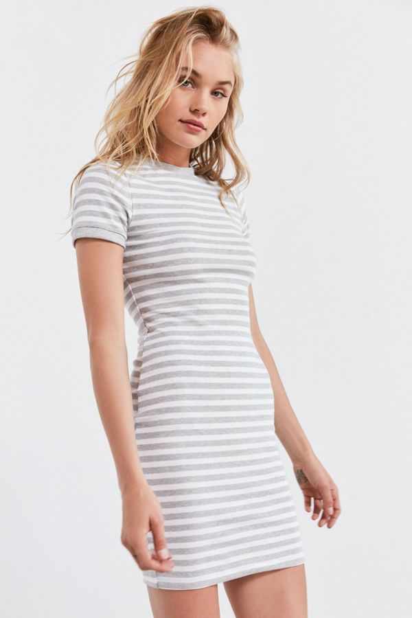 eeb15fc42 BDG Striped Bodycon T-Shirt Dress | Urban Outfitters