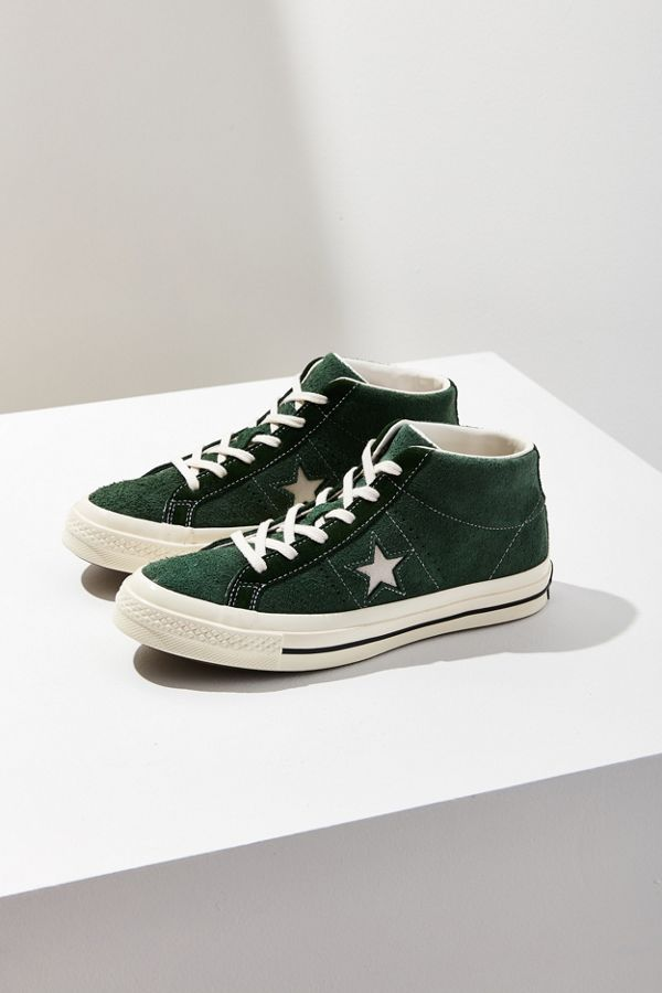 b0b8fc7e0574 Converse Cons One Star Pro Suede Mid Top Sneaker