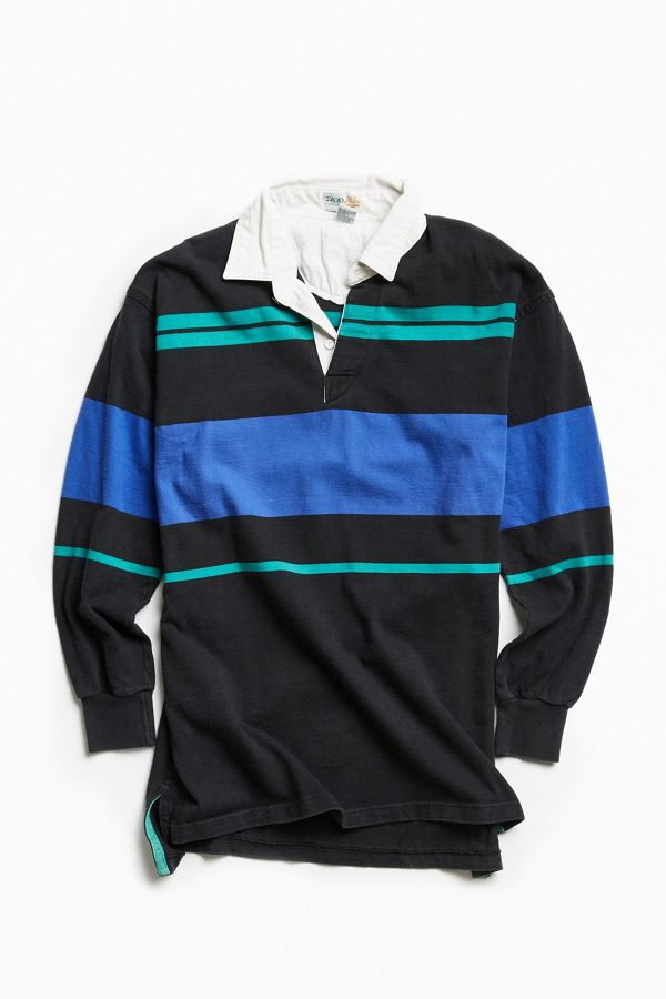c8057731 Vintage Izod Striped Rugby Shirt | Urban Outfitters