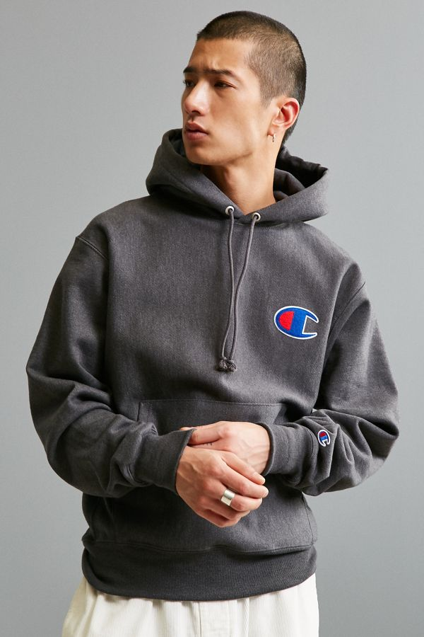 Champion Reverse Weave Big C Hoodie Sweatshirt