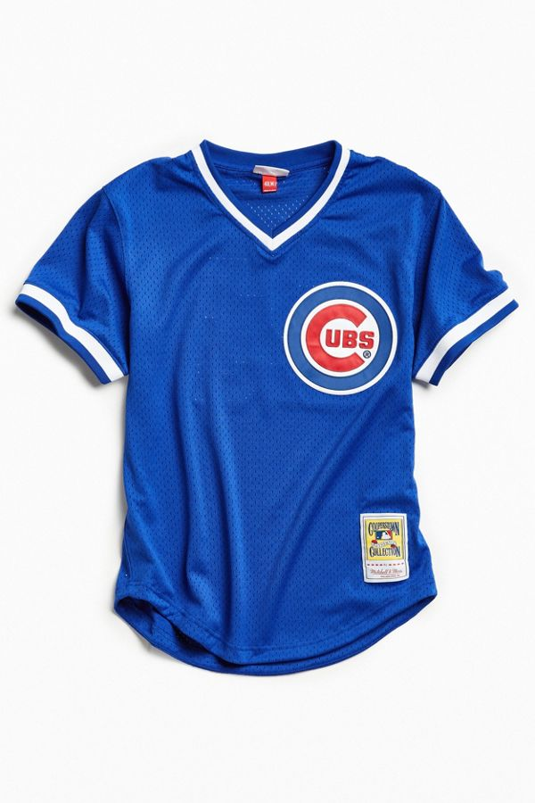 pretty nice 91e64 6687a Mitchell & Ness Chicago Cubs Batting Jersey