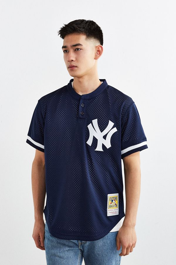 25098cb1 Mitchell & Ness Yankees Don Mattingly Baseball Jersey | Urban Outfitters