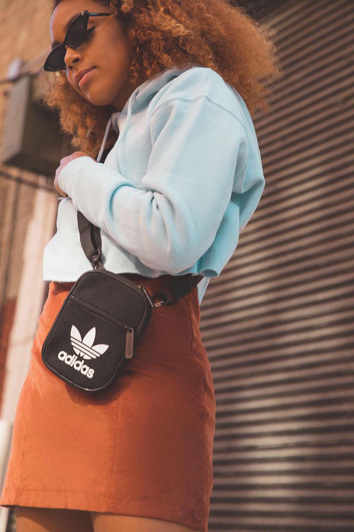 adidas Originals Trefoil Festival Crossbody Bag  bcbd73c7dd9dd
