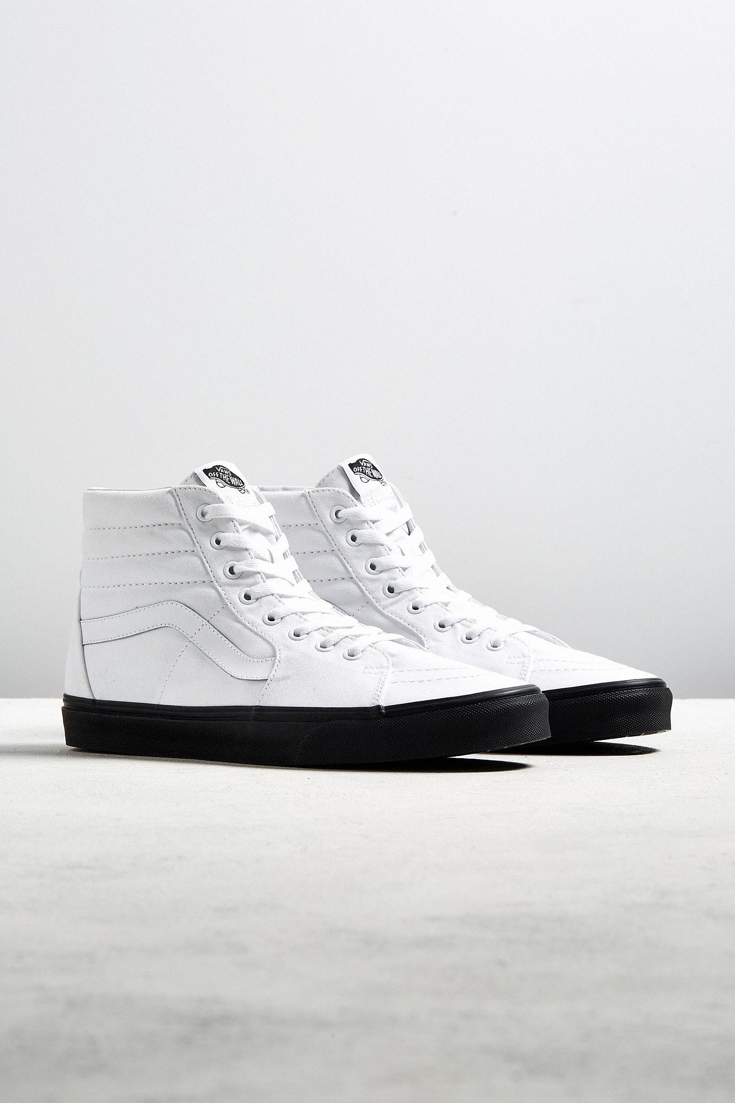 2c5af130dff Vans Sk8-Hi Black Sole Sneaker