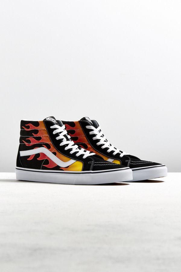 Schlussverkauf Angebot Kundschaft zuerst Vans Sk8-Hi Reissue Flames Sneaker