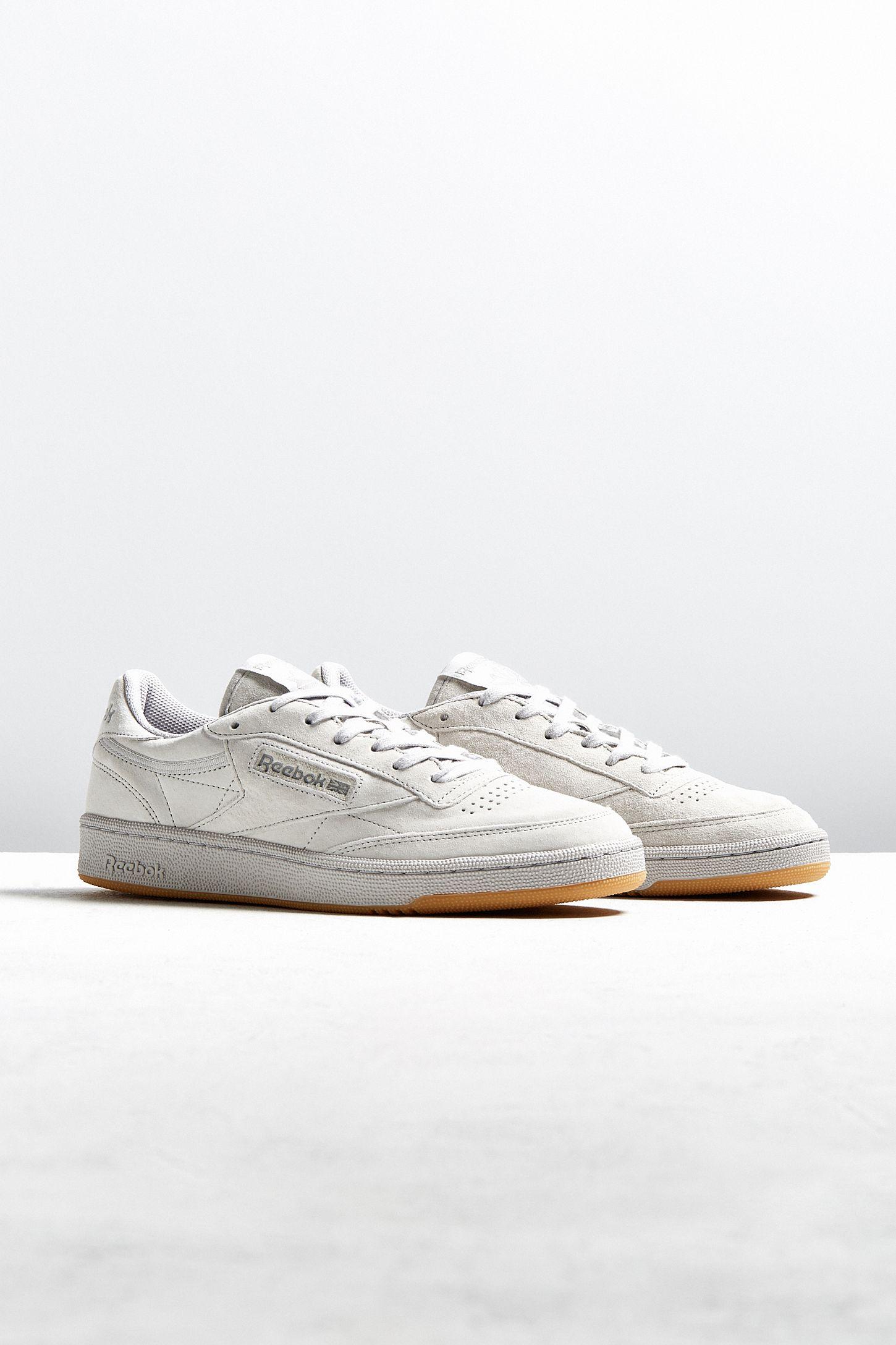 30f1bd5c1c2 Reebok Club C 85 TG White Sneaker
