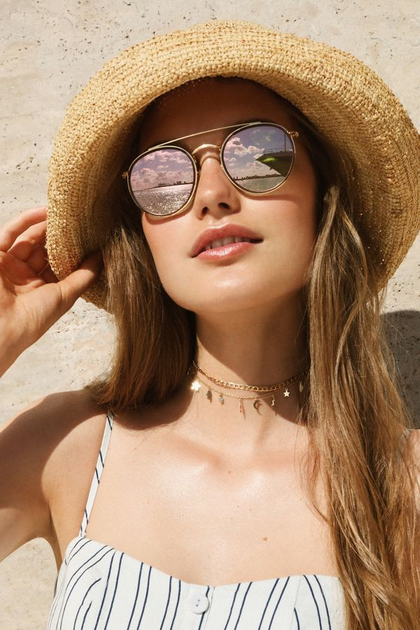 95b75a0d9 Ray-Ban Icon Round Bridge Sunglasses | Urban Outfitters
