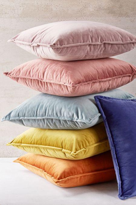 96aa747e588f Velvet Throw Pillow