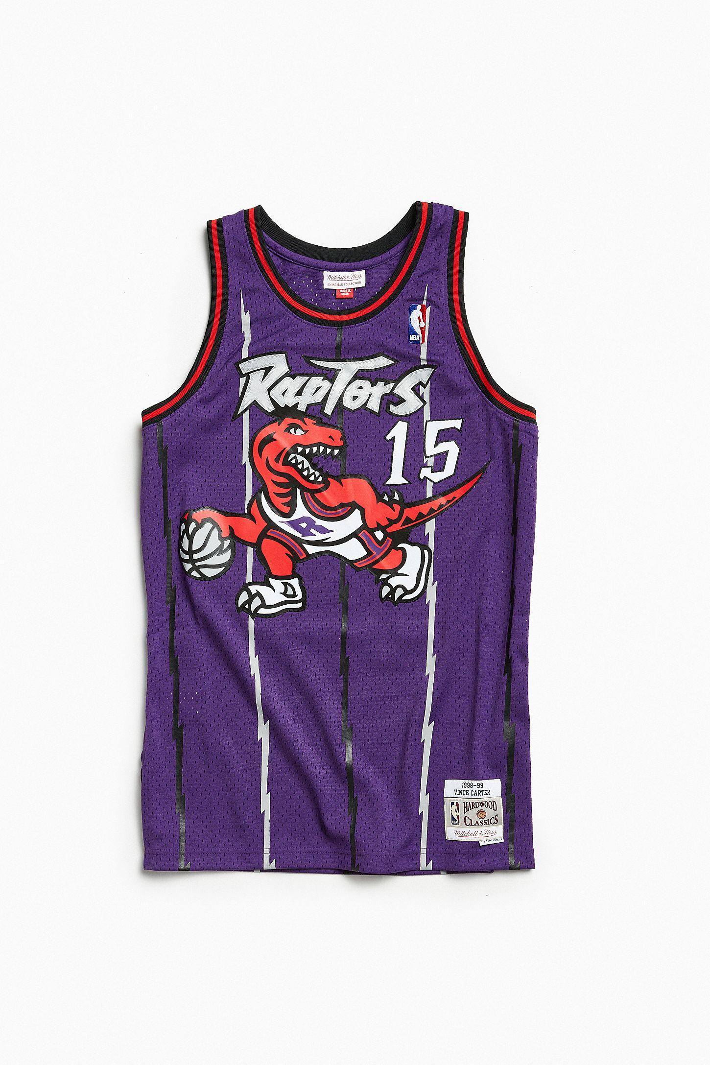 huge discount c733a 6e075 Mitchell & Ness Toronto Raptors Vince Carter '98 – '99 Basketball Jersey