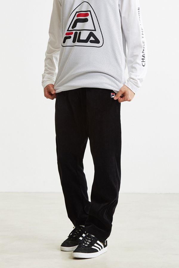 2900a08d7ad FILA Velour Track Pant | Urban Outfitters