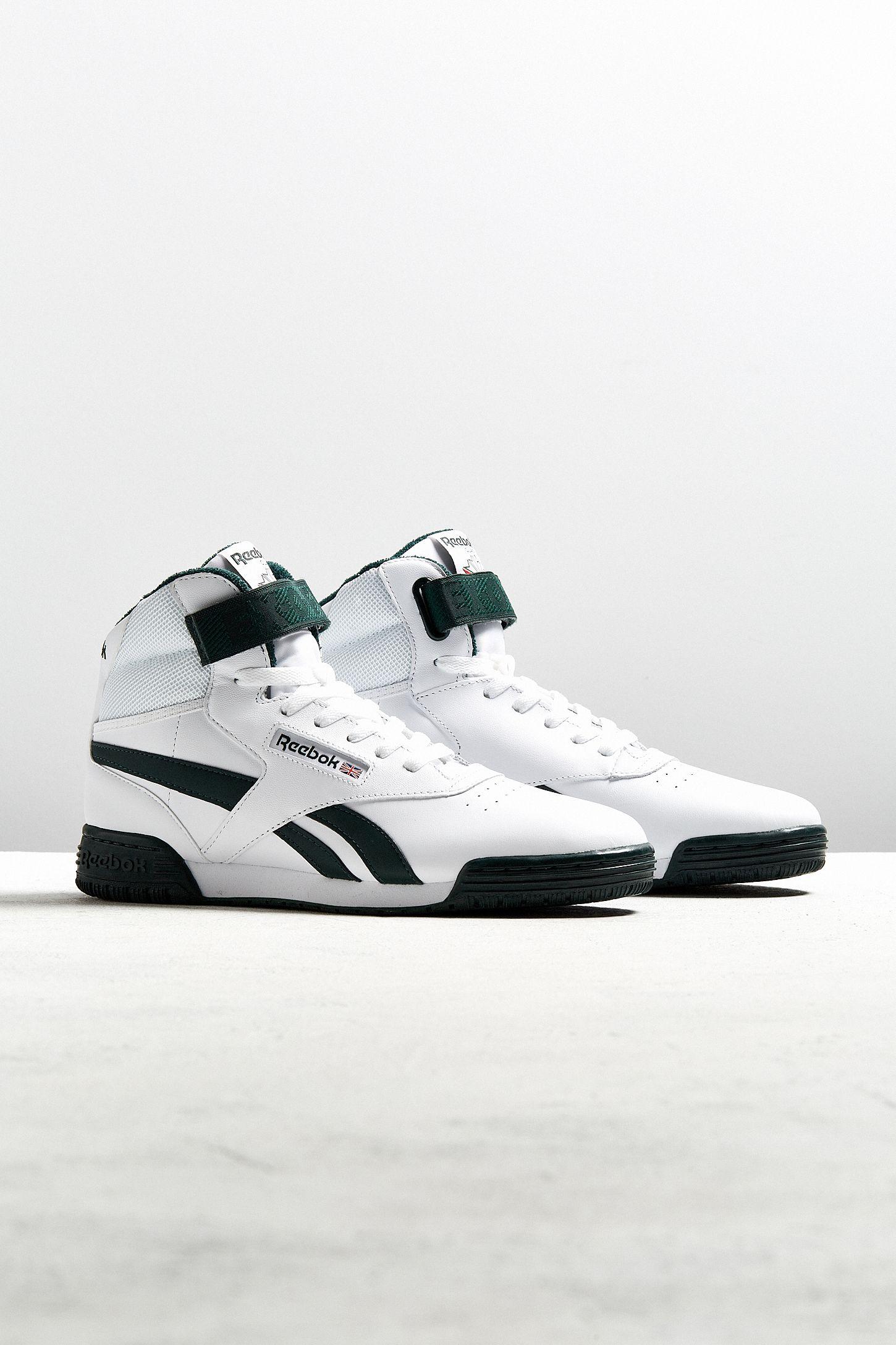 06d33d0357b Reebok Ex-O-Fit Clean Hi Sneaker