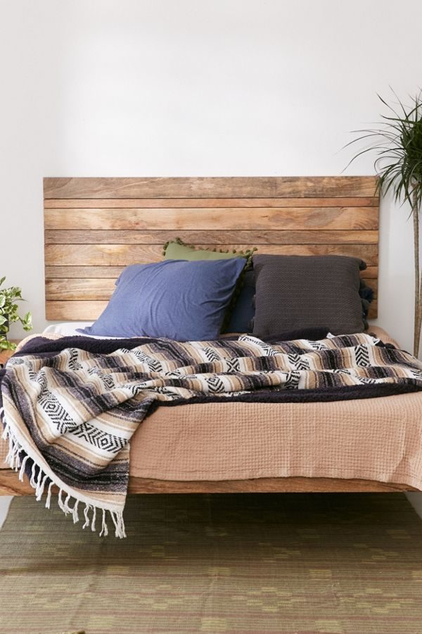 brand new 0afa0 a5cf5 Slatted Wooden Headboard