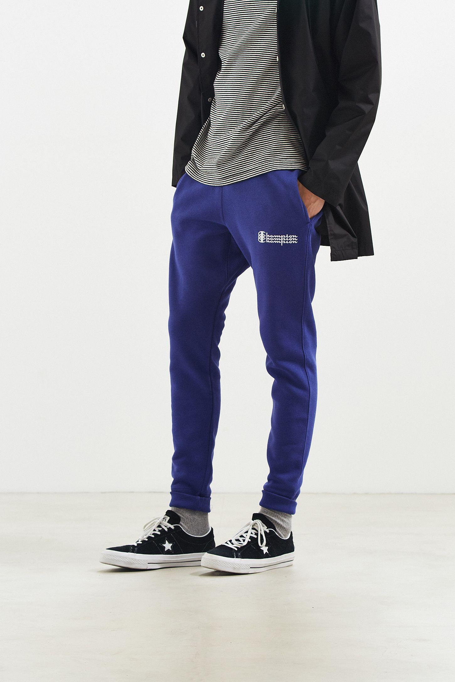 495e3b6e28bb Champion   UO Reverse Weave Fleece Triple Script Jogger Pant