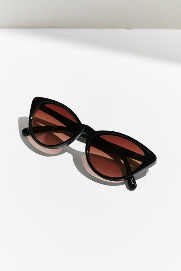 31cfa455c683 Slim Retro Cat-Eye Sunglasses   Urban Outfitters