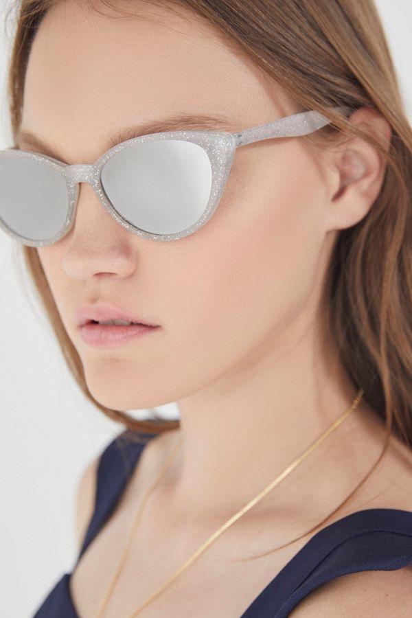 24ceb1442 Slim Retro Gradient Cat-Eye Sunglasses   Urban Outfitters