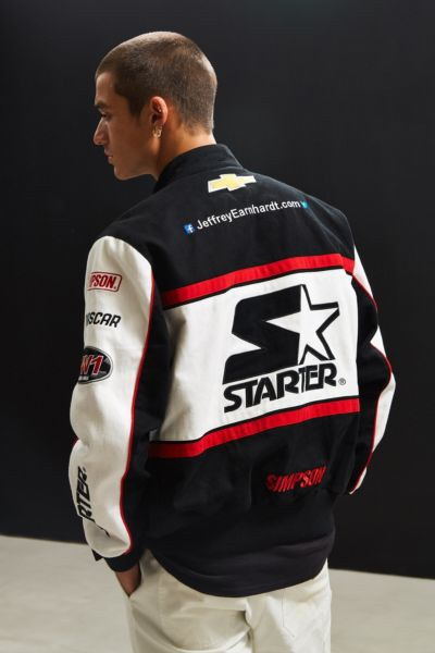 Starter Black Label Uo Nascar Racing Jacket Urban Outfitters
