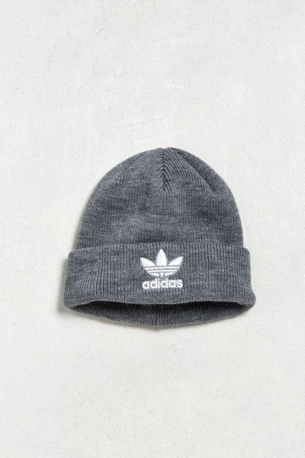 391b6c1a3 adidas Trefoil Knit Beanie | Urban Outfitters