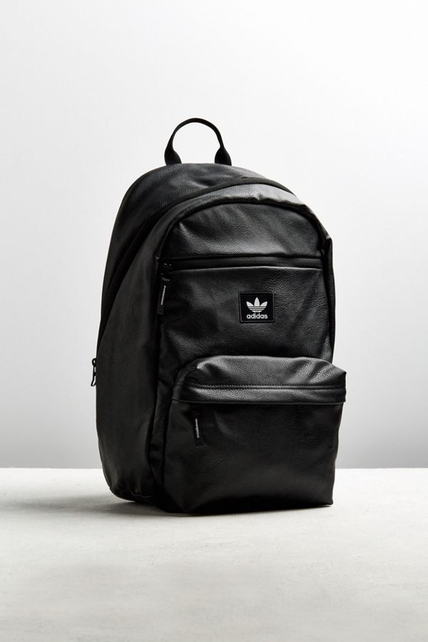 adidas Originals National Premium Faux Leather Backpack