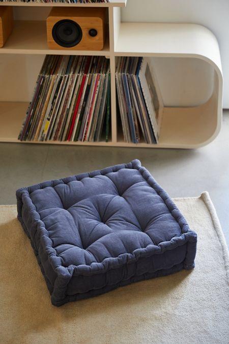 Surprising Blue Floor Pillows Cushions Urban Outfitters Machost Co Dining Chair Design Ideas Machostcouk