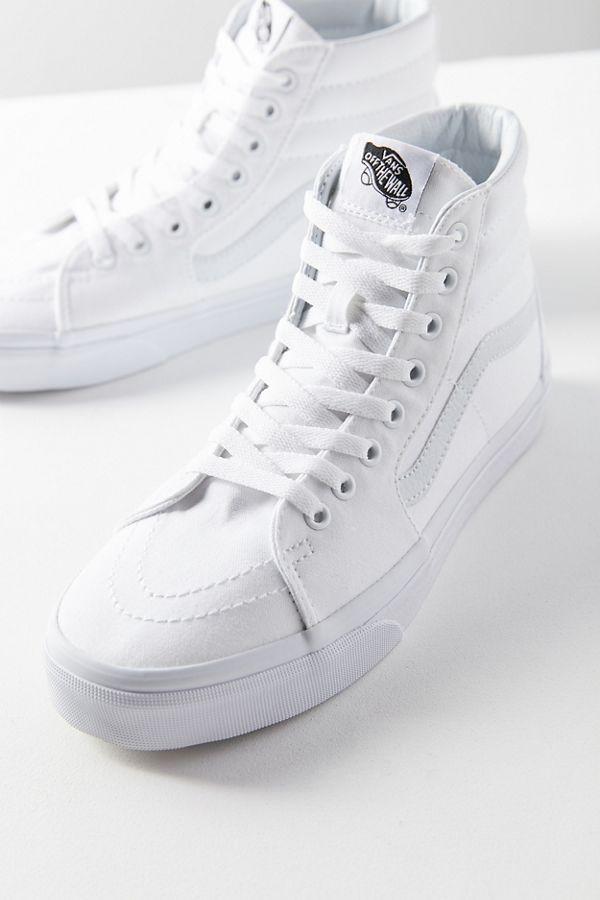 891d9b330c38 Slide View  1  Vans Canvas Sk8-Hi Sneaker