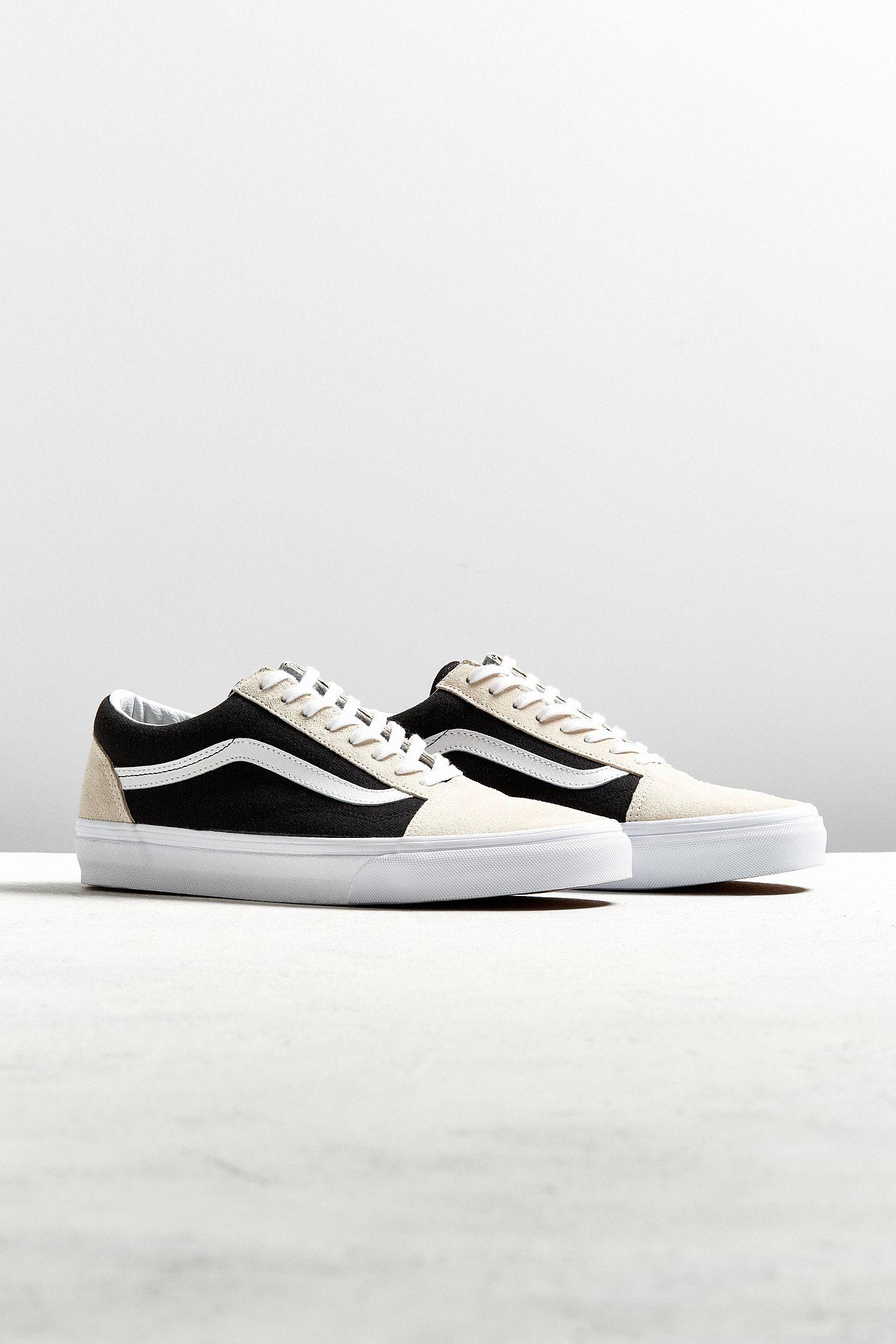 3d2c6eb76e Vans Old Skool Black + Birch Two-Tone Sneaker