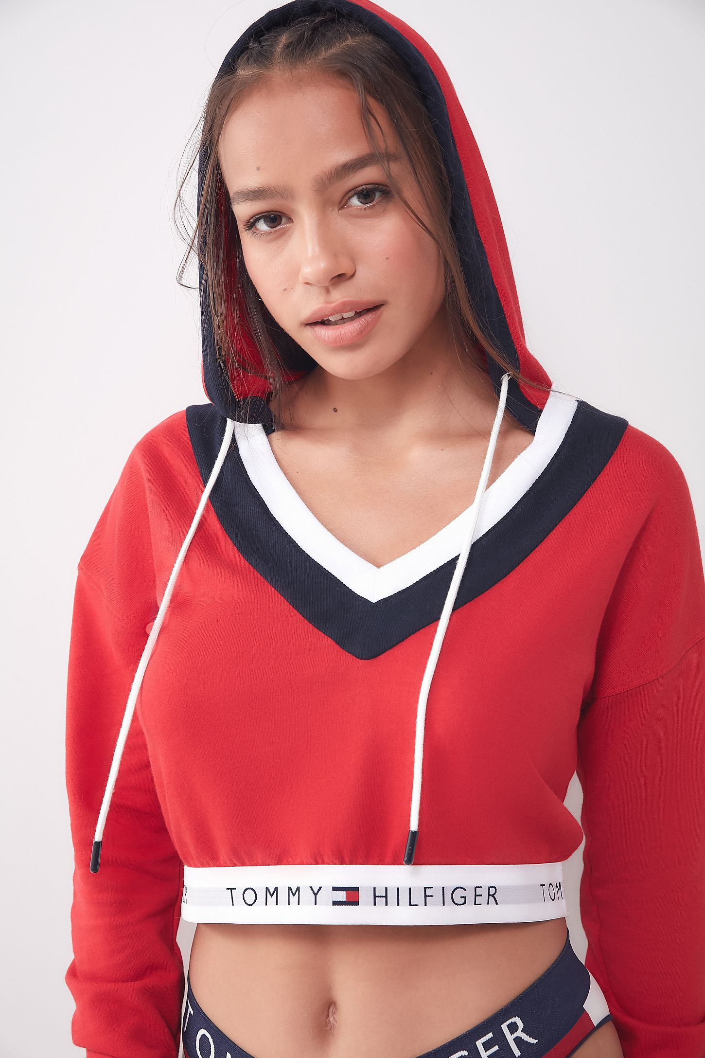 3ca137a6a Tommy Hilfiger UO Exclusive Hoodie Sweatshirt | Urban Outfitters