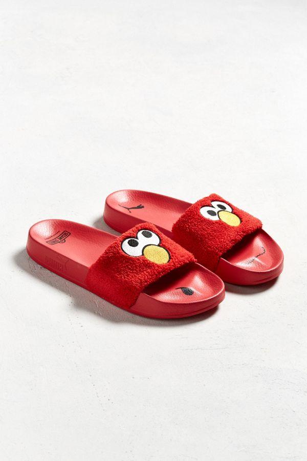 9888f0c16 Puma X Sesame Street Slide Sandal | Urban Outfitters