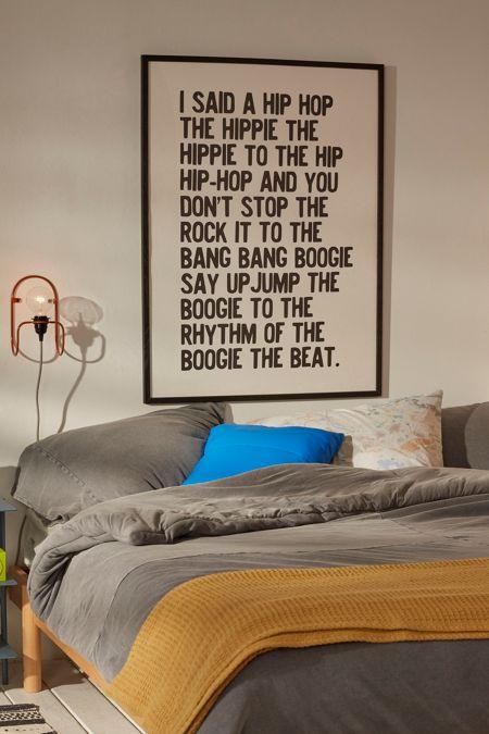 09b16619e92 Honeymoon Hotel Rapper s Delight Art Print