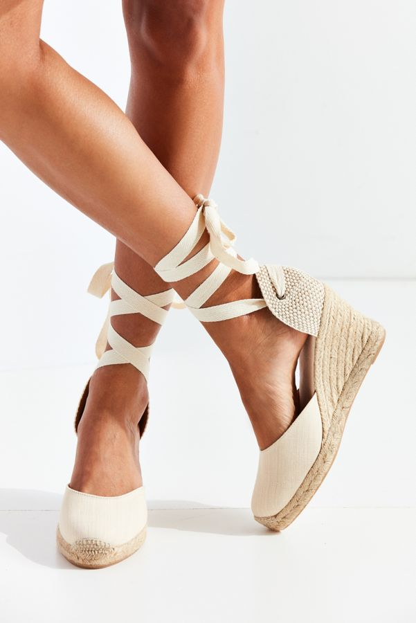 59ea0d83c6e Slide View  5  Soludos Linen Espadrille Tall Wedge Sandal