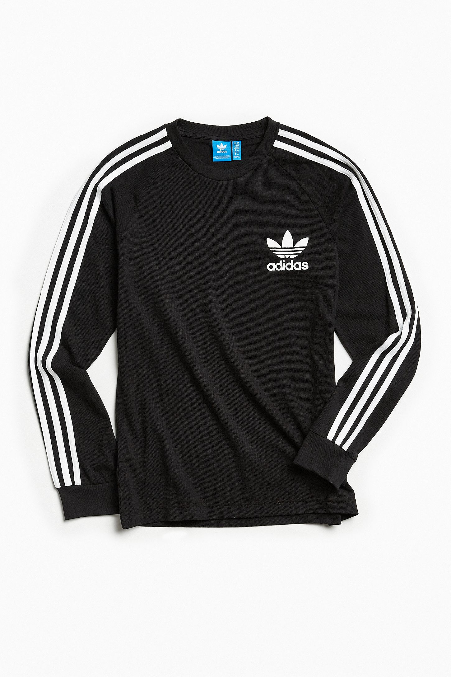 e7ad11caeb4476 adidas Pique 3-Stripes Long Sleeve Tee. Tap image to zoom. Hover to zoom.  Double Tap to Zoom